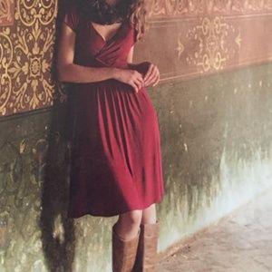 Anthropologie Velvet  Lucerna Jersey Dress